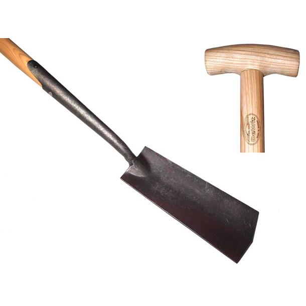 Englesk omplantnings spade - 750mm - aske skaft